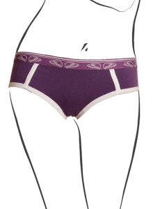 Pants to Poverty  -  Fly Front Plum